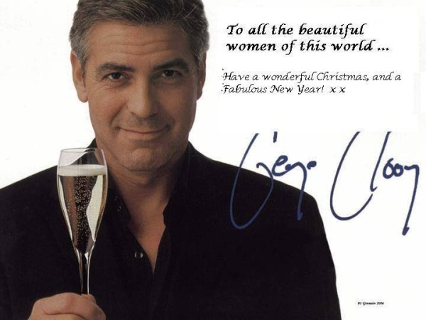 George Clooney Christmas Wish