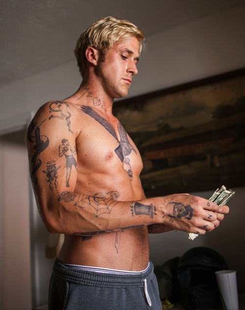 Ryan Gosling in 'The Place beyond the pines'