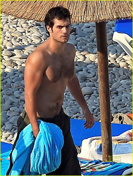 Superman Shirtless